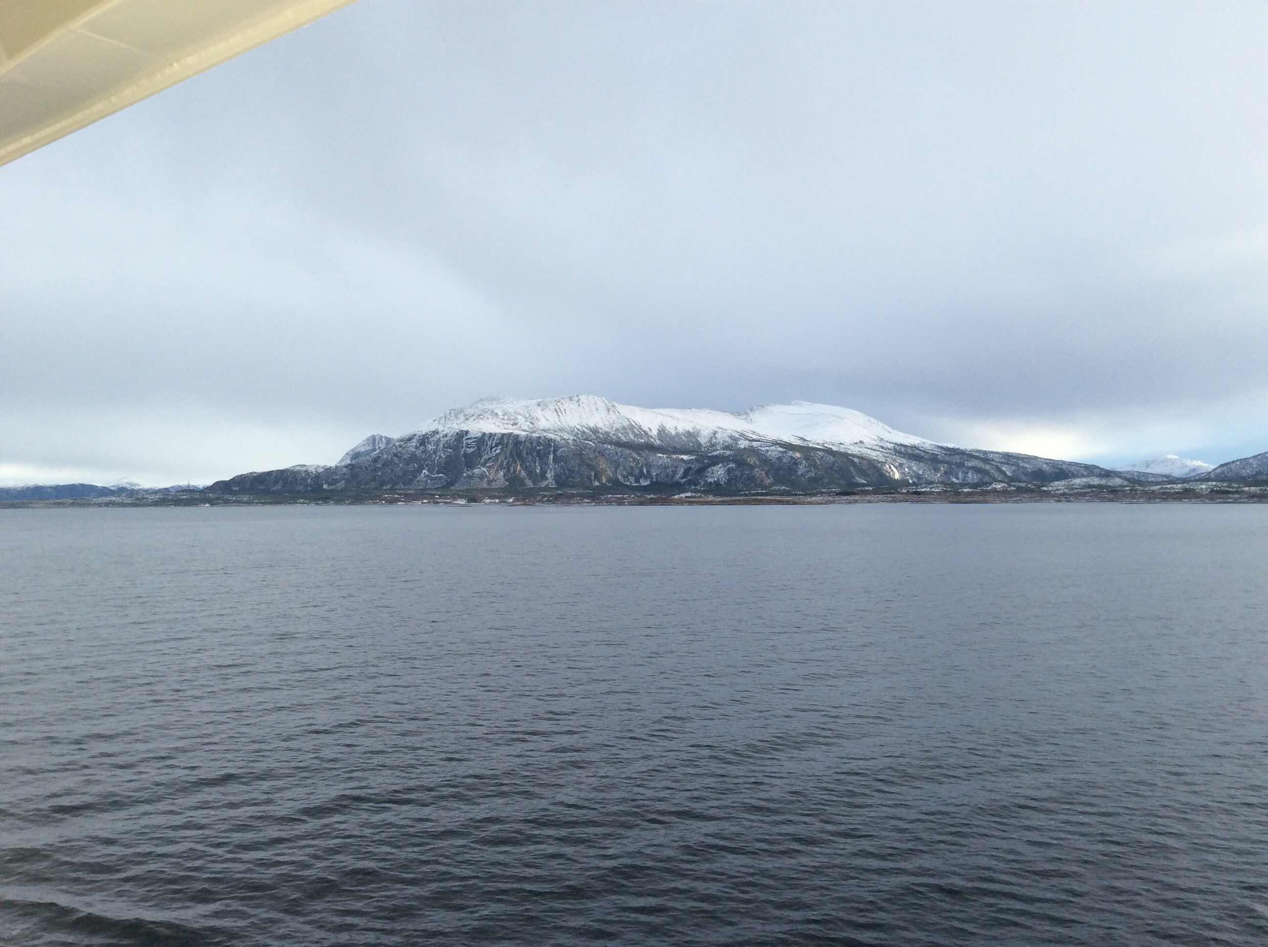 Scenic beauty along the Norwegian coastline aboard the Viking Sky