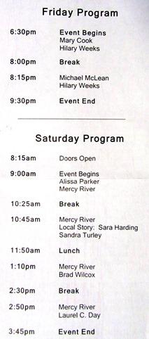 TOFW Schedule