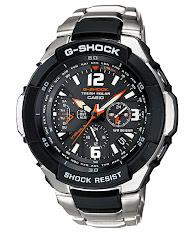 Jam Tangan Pria Analog Tali Stainless  Casio G-Shock : MTG-G1000D-1A2
