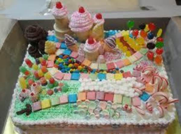 Candyland Birthday Cake Recipe