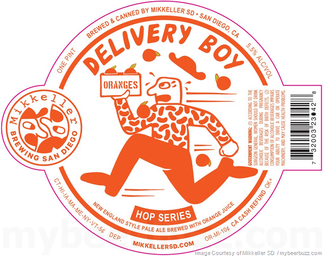 Mikkeller San Diego Adding Hop Series Delivery Boy & House Party