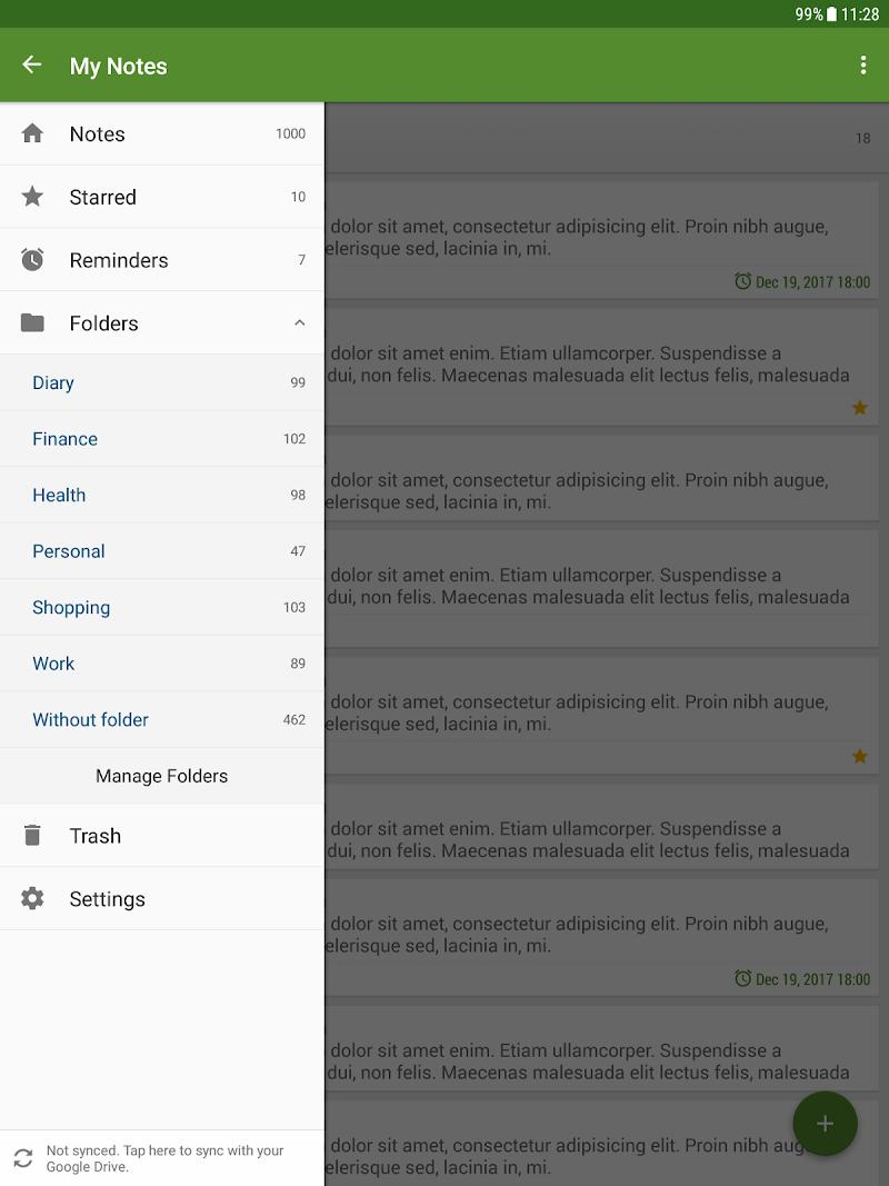 My Notes - Notepad Screenshot 9