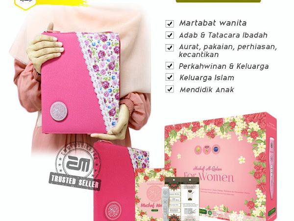 Al Quran Digital Wanita dari Al Qolam Malaysia