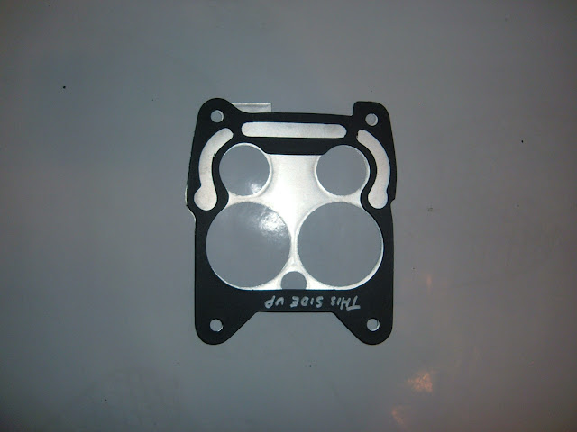 CPK-02 Carb plate and gasket set for the 1966-1967 Q-Jet carburetor. 18.00