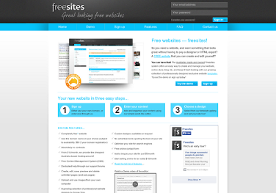 freesites.com.au free online website builders