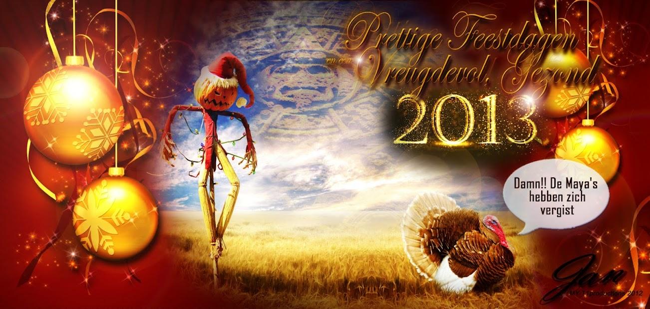 Joyeuses Fêtes et  Meilleurs Voeux de Bonne année  - Page 3 Kerstkaart+2012