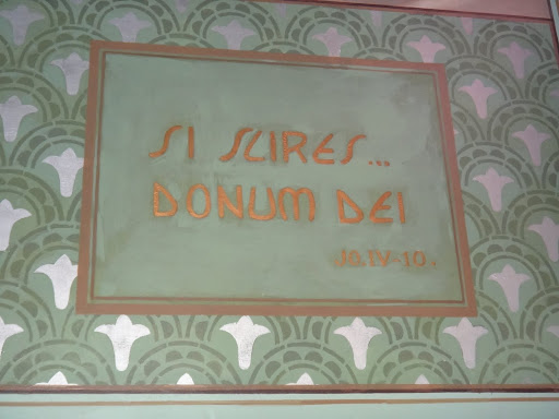 """Si scires dominum Dei"" que significa "" Se conhecesse o dom de Deus"""