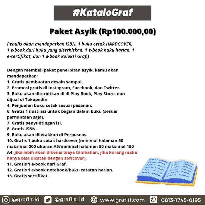 Paket Penerbitan Asyik (Rp100.000,00)