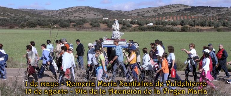 1 DE MAYO con la Romería en las Sierras en honor de María Santísima de Valdehierro