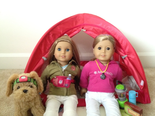 The Great Outdoors Tent!  sc 1 st  Pretty Lilly an American Girl & Pretty Lilly an American Girl: July 2012