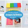Montessori Inspired January Activities for Preschoolers