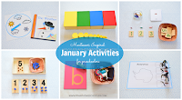 Montessori Inspired January Activities for Preschoolers