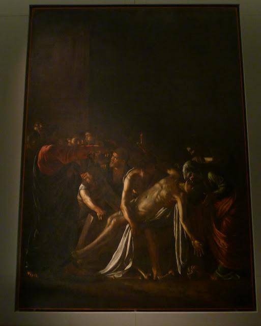 Wskrzeszenie Łazarza Caravaggia
