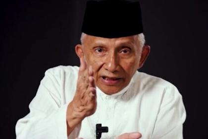 Amien Rais: Rezim Jokowi Terjangkit Penyakit Nihilisme, Semua Digasak