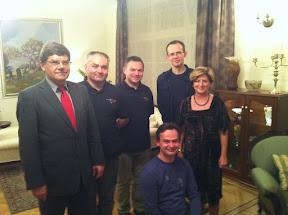At the Polish Embassy in Riga / Latvia