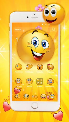 Funny Emoji Theme screenshots 2