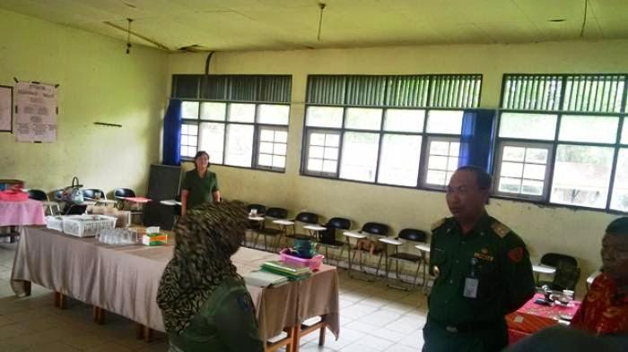 Mofit Pantau Pelaksanaan UN SMP