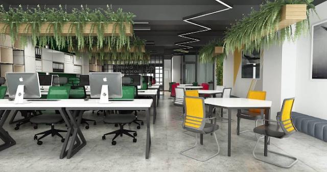 Mẫu thiết kế nội thất văn phòng chuyên nghiệp, hiện đại