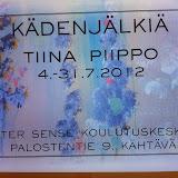 Tiina Piippo Inter Sensessä heinäkuussa 2012