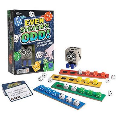 Even Steven´s Odd, juego para la agilidad mental
