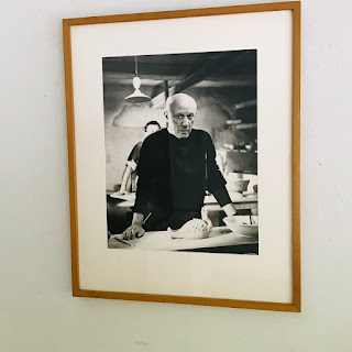 André Villers Photograph of Picasso