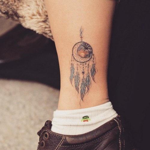 este_deslumbrante_dreamcatcher_tatuagem_para_mulheres