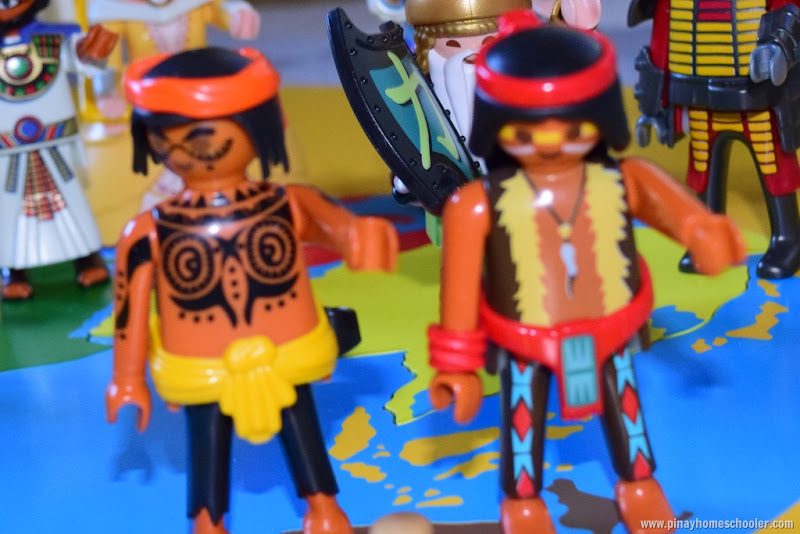 Oceania Continent Mini People Figures