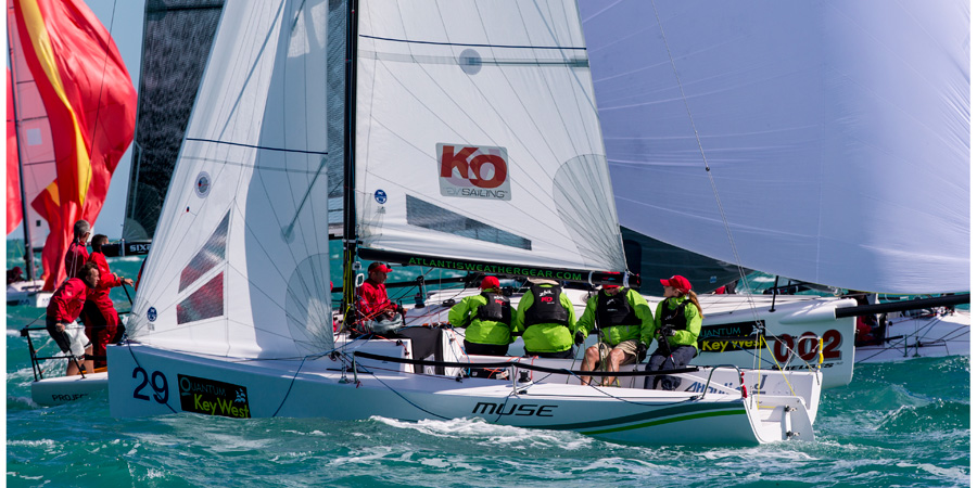 J/70 sailing Key West
