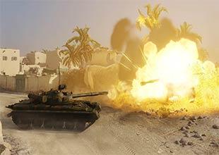 لعبة حرب دبابات
