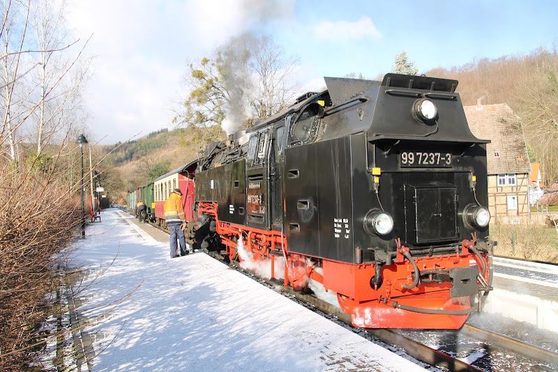 Dampflok der Brockenbahn (HSB)