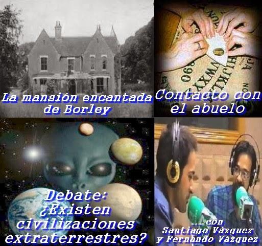 La mansión más encantada – Debate: ¿Existen civilizaciones extraterrestres? – Terror ante la oui-ja – 27/1/2014 – MADLR 10x19