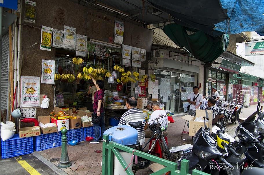 生果店與街坊