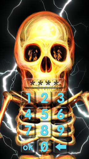 Skull lock screen. 1.0.0.31 app download 2