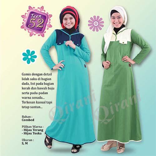 Model Baju Qirani Anak Remaja