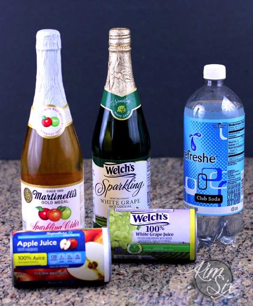 DIY Sparkling Apple Juice