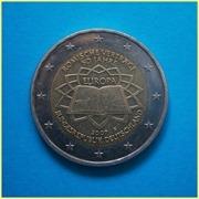 2 Euros Alemania 2007 Roma