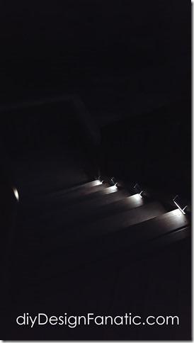 solar lights, stairs, diy, farmhouse, cottage, easy, amazon.com