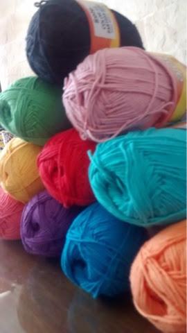 mis lanas/hilos para tejer