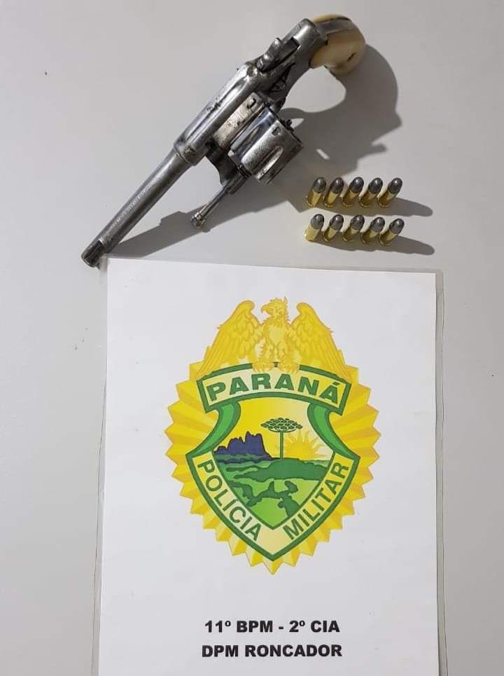 Ações policiais em Roncador resultam na apreensão de drogas, armas de fogo e munições