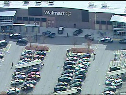 2 Virginia Walmart security agents, deputy sheriff shot by suspected shoplifter