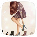 Sexy Lady Theme Black Heels icon