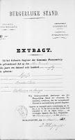 Vos, Nicolaas en Roos, Lijntje Huwelijksbijlage 12-04-1878 Extract geboorte L. Roos.jpg