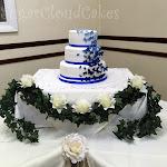 Royal blue butterfly wedding cake 4.jpg
