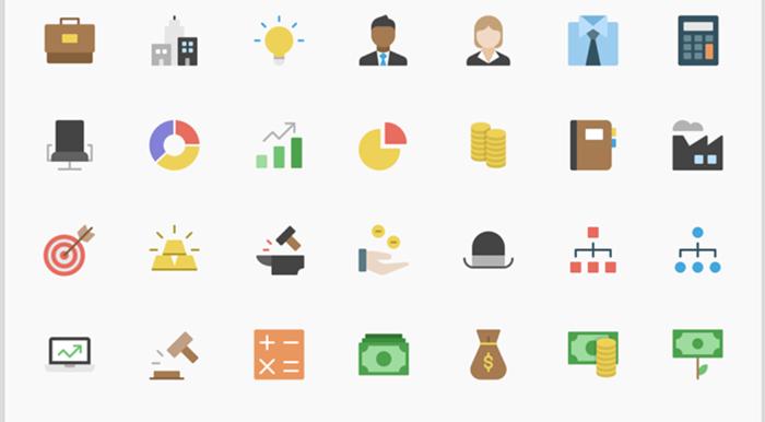 7 paquetes de íconos para usar en sus diferentes proyectos