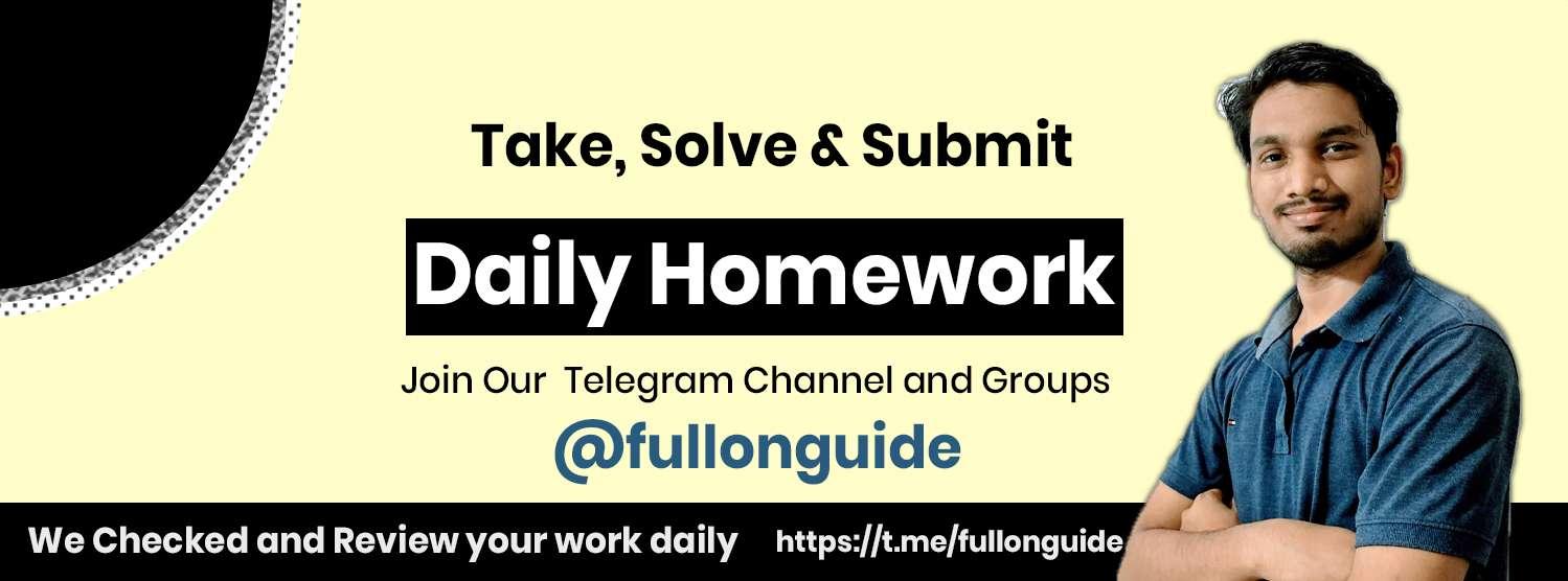 Full ON Guide Dialy Homework