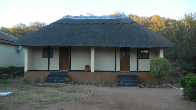 Our room at the Rasesa Lodge