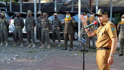 Satpol PP Sumbar Diminta Kedepankan Sisi Humanis dalam Penegakan Perda