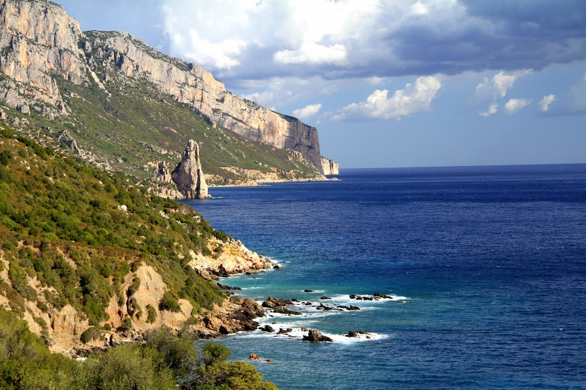 A section of Mediterranean coastline we passed on our four-month voyage revealing the secrets of the olive.