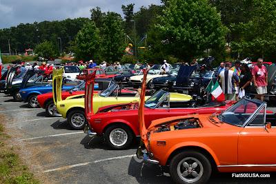 Fiat 124 Spiders