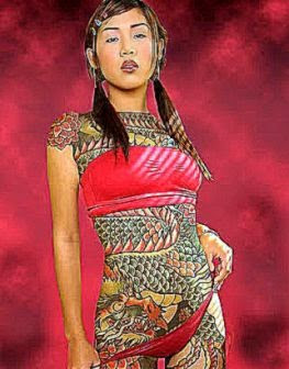 Tattoos Chinese Body Art